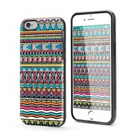 Beaslife Tough Case for iPhone 6 6s Dual Layer Protection TPU Bumper Inked Case (Geometric Pattern)