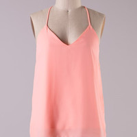 Favorite Color Tank - Light Neon Coral