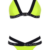 Tape Bikini Top and Pant By Kendall + Kylie at Topshop - Topshop