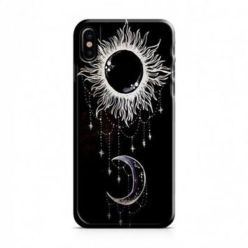 SUN AND MOON iPhone X Case