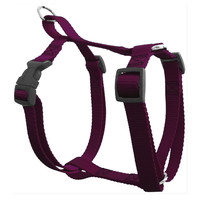 20in - 28in Harness Burgundy,  Lrg 40 - 120 lbs Dog By Majestic Pet Products
