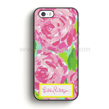Lilly Pulitzer First Impression Rose Inspired iPhone 5/5S Case  | Aneend.com
