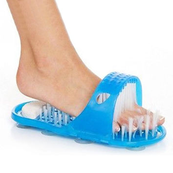 Foot Care 1 Pc Reliable Easyfeet Easy Feet Foot Scrubber Brush Massager Clean Slippers Bathroom Tool Gift