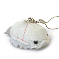 Giant isopod Plush Cell Phone Strap