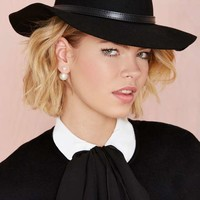 Nasty Gal Go Undercover Wool Hat