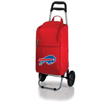 Buffalo Bills - Cart Cooler with Trolley (Red)