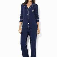 Cotton Jersey Pajama Set