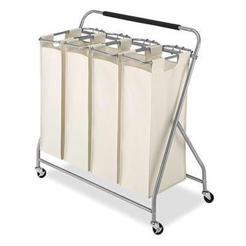 Easy-lift Quad Laundry Sorter