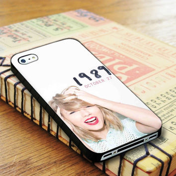 Taylor Swift 1989 October Singer Music 1989 iPhone 4 | iPhone 4S Case