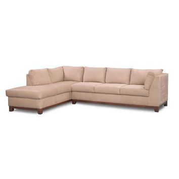 Soho 2-Piece Sectional with Left-Facing Chaise - Cobblestone