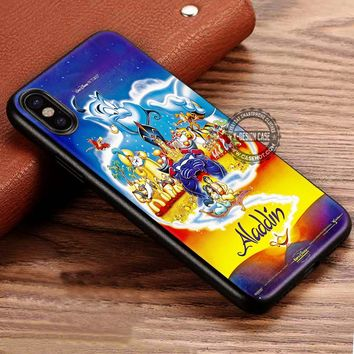 Fantasy Aladdin Poster iPhone X 8 7 Plus 6s Cases Samsung Galaxy S8 Plus S7 edge NOTE 8 Covers #iphoneX #SamsungS8