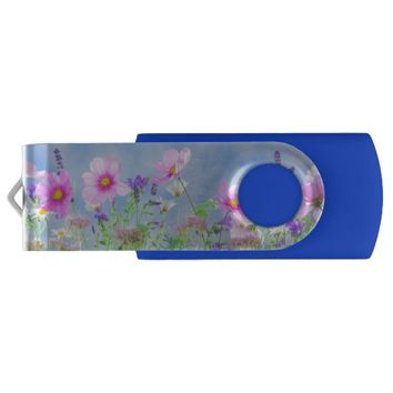 Wildflowers Flash Drive
