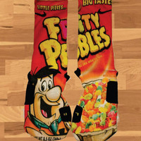 Nike Elite Fruity Pebbles Basketball Socks Kobe Lebron Kd