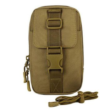 DCCK7N3 Unisex Outdoor Sports Bag Tactical Vice Package Wear Belt Purse 5.5 inch 6 inch Mobile Phone Package EDC Tool Bag Messenger Bag