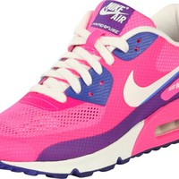 Nike Air Max 90 Hyperfuse Premium W shoes pink blue white
