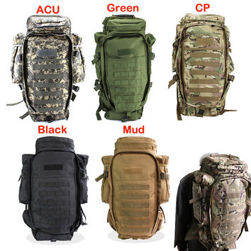 Military USMC Army Tactical Molle Hiking Hunting Camping Rifle Backpack Bag Free Shipping Hot Climbing Bags