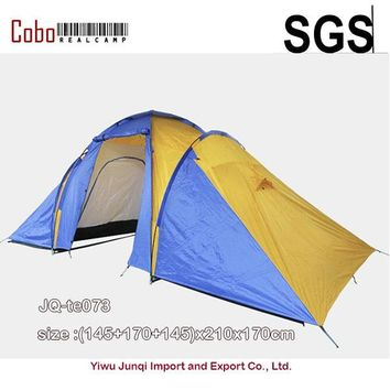 5-8 Person Family Camping Dome Tent Canvas Hiking Beach 2 Room 210T Waterproof