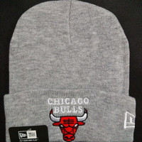 Chicago bulls Women Men Embroidery Beanies Knit Hat Cap