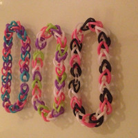 Loom bracelet, made to order, handmade
