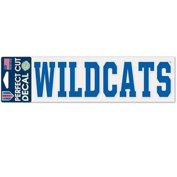 """Licensed Kentucky Wildcats Official NCAA 3"""" x 10"""" Die Cut Car Decal UK by Wincraft 355393 KO_19_1"""