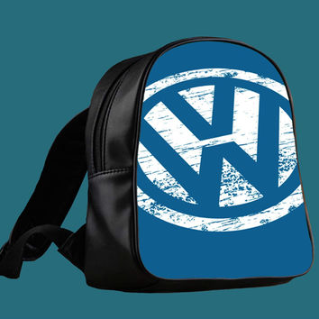 VW Volkswagen Logo for Backpack / Custom Bag / School Bag / Children Bag / Custom School Bag ***
