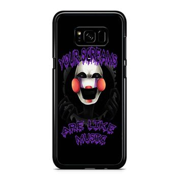 Five Nights At Freddy S The Marionette Samsung Galaxy S8 Plus Case