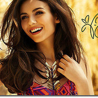 VICTORIA JUSTICE - SIGNED PHOTO PRINT POSTER - TOP QUALITY PRINT