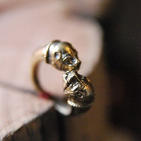 Old Hollywood - Vintage Inspired Jewelry, Clothing, Accessories & Housewares | Bulldog Ring