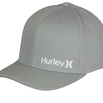 Hurley Flexfit Cap with Nike Dri-Fit fabric ~ Corp pumice