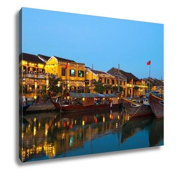 Gallery Wrapped Canvas, Hanoi Hoi An Ancient Town Vietnam