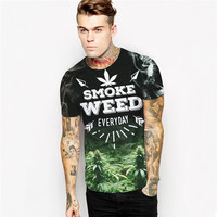 Men's Smoke Weed Everyday T-Shirt