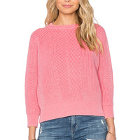 DemyLee Chelsea Sweater in Candy Pink