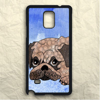 Painting Pug Samsung Galaxy Note 3 Case