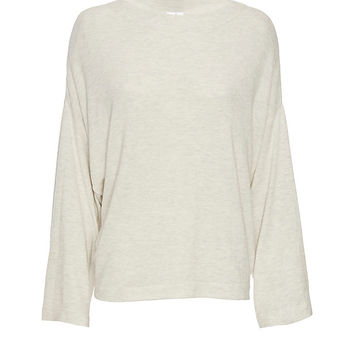 Shae EXCLUSIVE Bell Sleeve Sweater at INTERMIX | Shop Now | Shop IntermixOnline.com