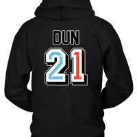 Twenty One Pilots Josh Dun Jersey Hoodie Two Sided