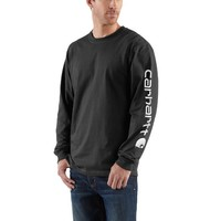 Long-Sleeve Graphic Logo T-Shirt