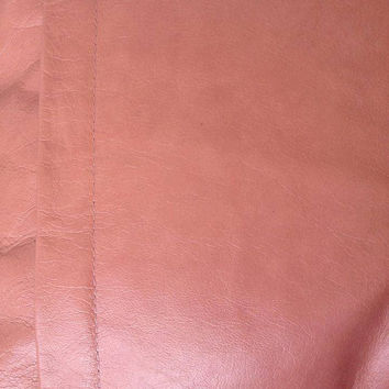 Tan Brown Leather Pillow Cover Pillow,,interwined leather Pillow cover
