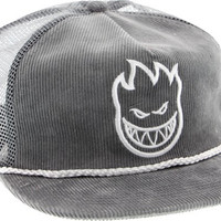 Spitfire Bighead Unstructured II Cord Mesh Hat Adjustible Grey