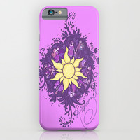Tangled: Rapunzel's Kingdom Dance Chalk Drawing iPhone & iPod Case by Channing