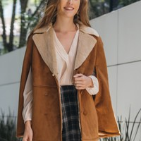 Upper East Side Sherling Coat | Ruche