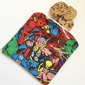 Marvel Comics Snack Bag