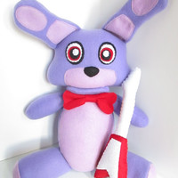 Bonnie Plush Inspired by Five Nights at Freddy's (Unofficial)