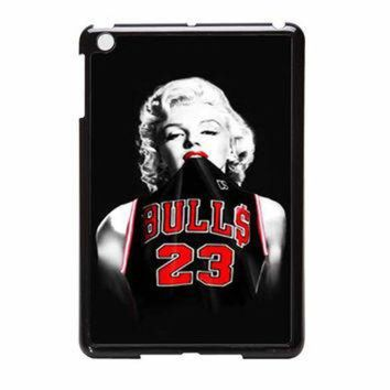 CREYUG7 Marilyn Monroe Chicago Bulls Jersey Michael Jordan iPad Mini Case