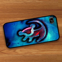 bocase —  Simba Lion king cartoon : Case For Iphone 4/4s ,5 /Samsung S2,3,4