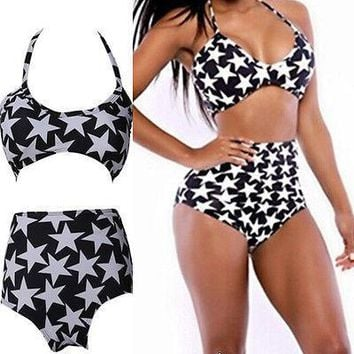 Push up Padded Bra Bandage Bikini Set Swimsuit Swimwear Bathing