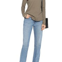 Faded mid-rise straight-leg jeans | HELMUT LANG | Sale up to 70% off | THE OUTNET