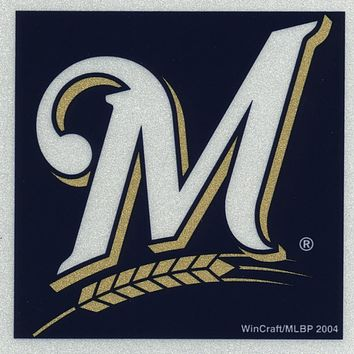 Milwaukee Brewers - Logo Reflective Decal