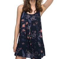 Black Floral Cover-Up