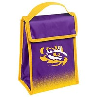Licensed Lsu Tigers Official NCAA Lunch Box Bag by Forever Collectibles 067528 KO_19_1