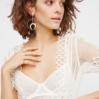 Free People Dancing On Glass Bed Jacket
